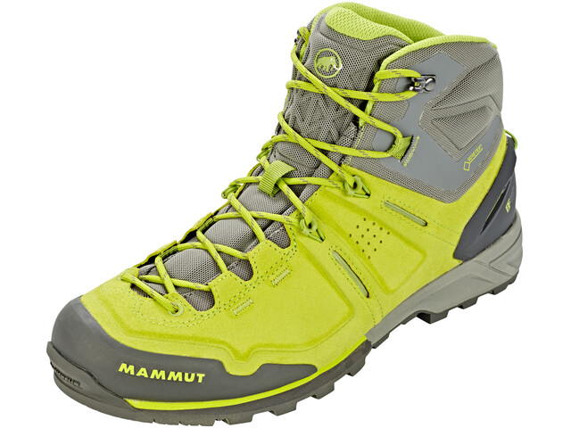Mammut M's Alnasca Pro Mid GTX Shoes sprout-grey